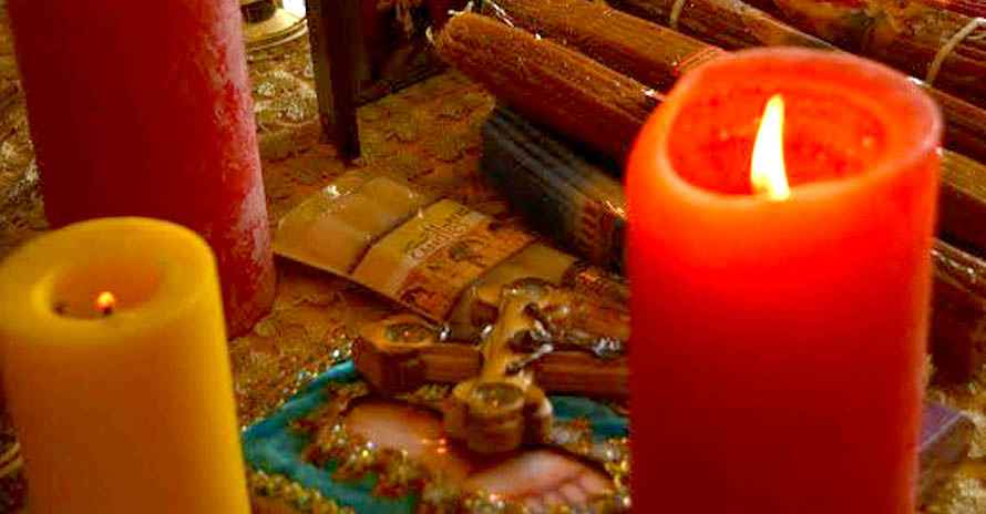 Снять порчу (фото с ритуала)
